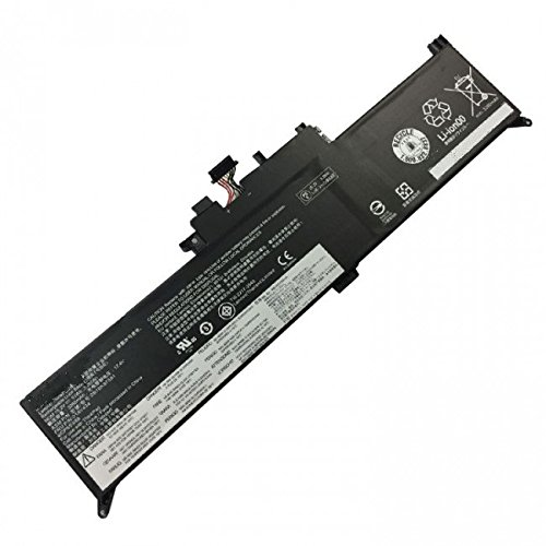 amsahr LEN01AV434-02 Ersatz Batterie für Lenovo 01AV434, Lenovo Yoga 12 X260 Series, SB10K97591, 4ICP5/53/88 (15.2V, 3.355Ah, 51Wh) schwarz