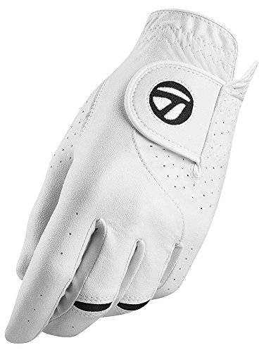 TaylorMade n6407019 Gant, Hommes, Blanc, S