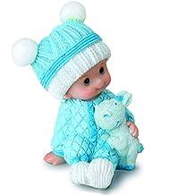 Mopec Figura pastel bebé para bautizos Azul ...
