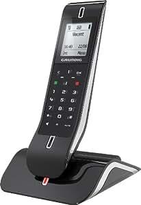 Sagemcom Grundig D770A sans fil DECT avec répondeur - Noir