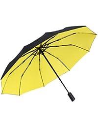 Sombrillas automáticas de Doble Uso para Días soleados y lluviosos, Protección UV para Hombres y Mujeres, Paraguas Personalizados, Tres Colores…