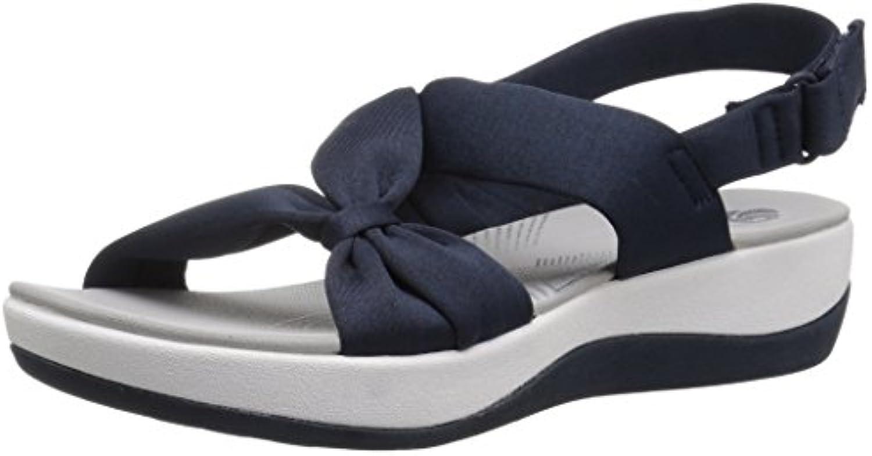 Clarks Wouomo Arla Primrosa Sandal, blu Heatherosso Fabric, 5 Medium US   Rifornimento Sufficiente    Uomini/Donne Scarpa