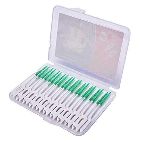 80 Stücke Interdentalbürsten 0,7mm Technologie Interdental Zahn Zwischenraum Bürsten Zahnbürste für Zahnzwischenräume Zahnbürste für Zahnzwischenräume