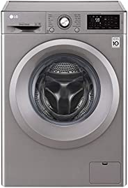 LG 6Kg 1200 RPM Front Load Washing Machine with 6 Motion DD Technology - F2J5NNP7S, 10 Years Motor Warranty