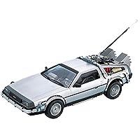 DeLorean DMC 12 Back to the Future in 1:24 Model Kit Bausatz Aoshima 011850