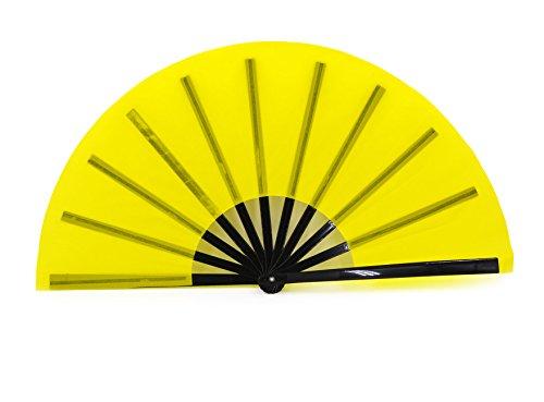 STHUAHE Ventilador Grande Plegable para Hombre Mujer, chinease/japonés de Mano, Ventilador de...