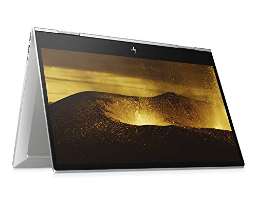 HP Envy x360 15-dr0202ng (15,6 Zoll / FHD IPS Touch) Convertible Notebook (Intel Core i7-8565U, 8GB DDR4 RAM, 256GB SSD, Intel UHD Grafik 620, Windows 10 Home) silber
