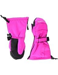 Degré 7 Kid Ufo Moufles de Ski Fille, Ultra Pink, FR : 6-8 Ans (Taille Fabricant : 6/8)