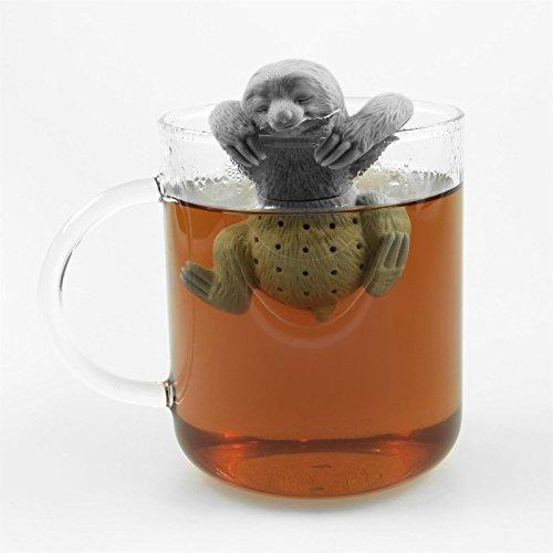 Niedliches Tier Faultier Tee-Ei aus Silikon (BPA-frei) für losen Tee Tee-Infuser - 4