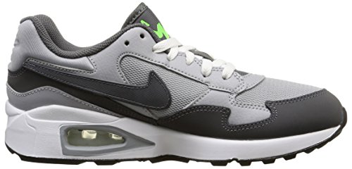 Nike Air Max St (Gs) 654288 Laufschuhe Training Jungen Multicolor (Wolf Grey / Dark Grey-Grn Strike)