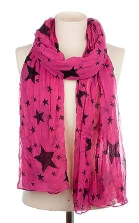 Codello Damen Schal 32093709-21, Gr. one size, Rosa (21 pink)
