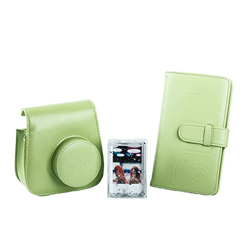 Fujifilm 70100138069 Kit Accessori per Fotocamera Instax Mini 9 Lime Verde