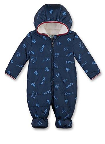 Sanetta Baby-Jungen Schneeanzug 114153, Blau (Marina Ocean 50149), 56