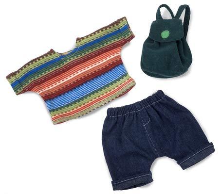 Rubens Barn 150032Schönheit Back to School Outfit für weiche Puppe