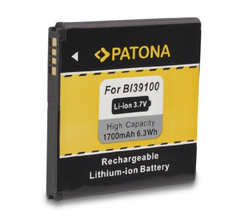 Batteria BA-S640 BI39100 per HTC Bass | Bliss | Bunyip | Eternity | Rhyme | Runnymede | Sensation XL | Titan | Titan II | X310E | X315 | X315b | X315E e più… [ Li-ion; 1700mAh; 3.8V ]