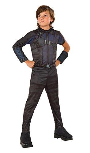 Hawkeye - Captain America Civil War - Kinder Kostüm - Medium - 132cm - Alter (Kostüm Hawkeye Medium)