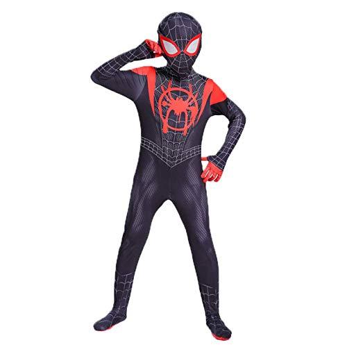 Macht Fancy Eine Dress Spinne Kostüm - YU Spiderman kostüm Cosplay Kind Erwachsene kleine Schwarze spinne Anime siamesische Strumpfhose Fancy Dress Party spielt kostüm,Schwarz,ChildM