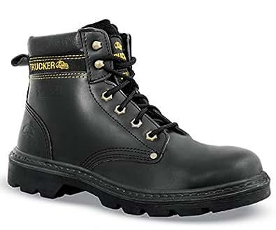 Aimont trucker 82003 chaussures de s curit bottes noir s3 noir noir chaussures - Amazon chaussure de securite ...