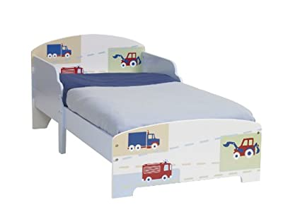 Vehicles Boys Kids Toddler Bed Parent3