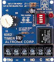 Timer Multi-Purpose 12/24VDC 1 Second to 60 Minute