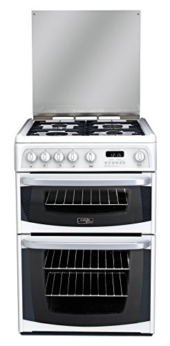 Hotpoint Cannon Carrick CH60GCIW Gas Cooker 60cm Freestanding White Best Price and Cheapest