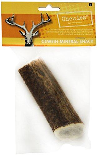 Chewies Rothirsch-Geweihstange, L, 1er Pack (1 x 120 g), verschiedene Formen -