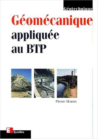 Géomecanique appliquée au BTP