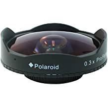 Polaroid serie Studio 52/58mm 0.3x HD Ultra Ojo de Pez para la Nikon 1J1, J2, V1, D40, D40x, D50, D60, D70, D80, D90, D100, D200, D300, D3, D3S, D700, D3000, D5000, D3100, D3200, D7000, D5100, D4, D800, D800E, D600Digital SLR Cámaras