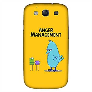 Bhishoom Designer Printed Back Case Cover for Samsung Galaxy S3 I9300 :: Samsung I9305 Galaxy S III :: Samsung Galaxy S III Lte (Angry Bird :: Comic :: Cartoon :: Sarcastic :: Humor)