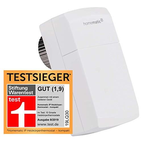 Homematic IP Smart Home Heizkörperthermostat - kompakt - intelligente Heizungssteuerung per App, 151239A0