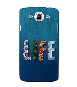 Life Hard Polycarbonate Designer Back Case Cover for Samsung Galaxy Mega 5.8 I9150 :: Samsung Galaxy Mega Duos 5.8 I9152