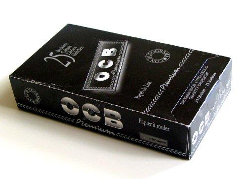 25-libritos-de-papel-de-fumar-ocb-premiun-1-1-4-nuevo-en-caja