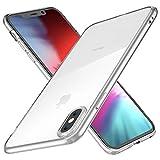 Joyguard Kompatibel mit iPhone XS Hülle Durchsichtig Weiche Silikon Plating Überzug TPU Handyhülle, Transparent