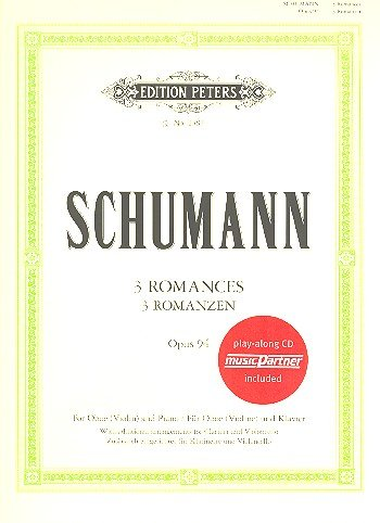 Schumann, Robert: Romanzen op.94 (+CD) : für Oboe und Klavier