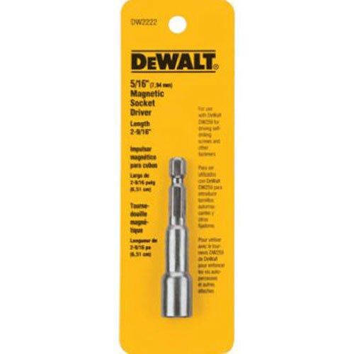 Dewalt dw2221-1/4-Zoll von 2-9/16Zoll magnetisch Sockel Treiber (1-treiber In 4)