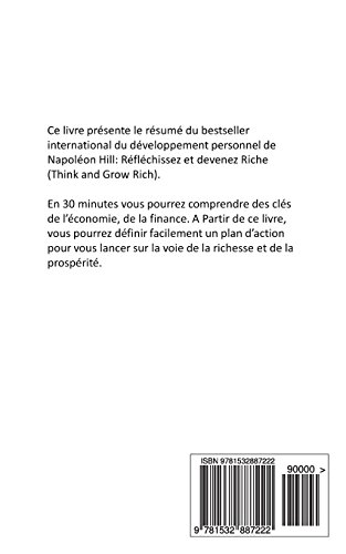 Reflechissez et devenez riche  De Napoleon Hill  (Resume): Volume 11 (Devenir Riche)
