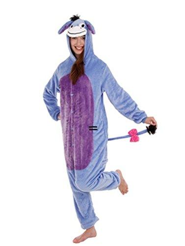 CIRAD Damen Schlafanzug Violett