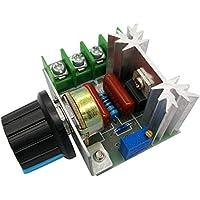 Regulador de Voltaje Ajustable Motor de CA Control de Velocidad 50V-200V 2000W 10A