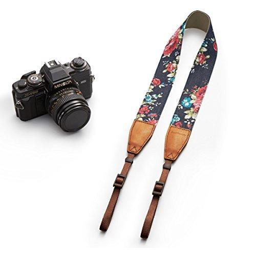 BESTTRENDY Kameragurt Kamerariemen Schultergurt Trageriemen Kamera Gurt für Canon Nikon DSLR Farbe Blau - 2