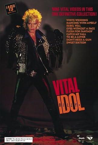 Billy Idol: Vital Affiche du film Poster Movie Guillaume Idol: Vital (27 x 40 In - 69cm x 102cm) Style