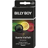 BILLY BOY Bunte Vielfalt - farbige und perlgenoppte Kondome, 12 Stück preisvergleich bei billige-tabletten.eu