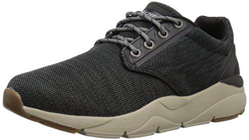 Skechers recent-merven, scarpe running uomo, nero (black), 42 eu