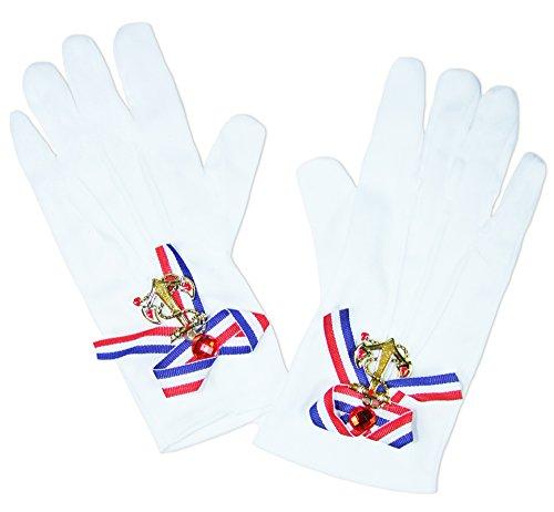schuhe mit Anker - Tolles Accessoire zum Navy Matrosin Seefahrerin Kostüm (Weiß Und Gold Mini Matrose Hut)