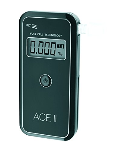 ACE II Basic plus Alkoholtester, Polizeigenaue Messergebnisse