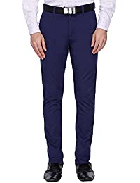 Van Heusen Sport Mens 4 Pocket Solid Formal Trousers