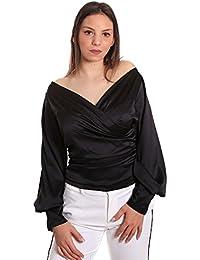 Denny Rose T-Shirt Maglia Blusa Donna Primavera Estate 2018 811DD40007 Black 86f299d0610f