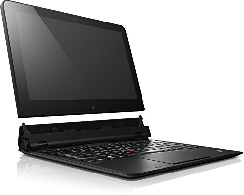 Lenovo ThinkPad Helix 29,5cm (11,6 Zoll FHD IPS) Convertible Ultrabook (Intel Core i5 3337U, 2.7 GHz, 4 GB RAM, 128 GB SSD, Intel HD Graphics 4000, 3G, Touchscreen, Win 8 Pro) schwarz