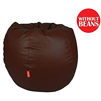 Orka XL Bean Bag Cover - Brown (Without Beans)