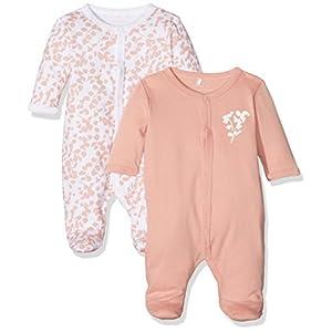 NAME-IT-Nbfnightsuit-2p-Wf-Rose-Tan-Noos-Pijama-para-Bebs-Pack-de-2