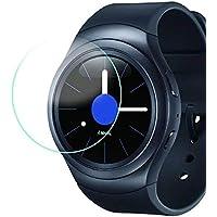 Zhuhaimei,Adecuado para Samsung Gear S3 película Protectora Ultrafina(Color:Blanco Claro)